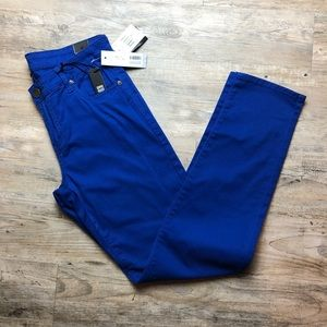 NWT Kut from the Kloth cobalt  Diana skinny jeans